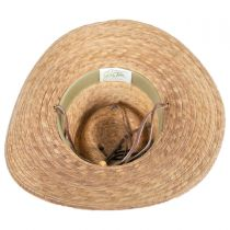 Outback Palm Straw Hat with Chincord alternate view 4