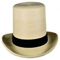 Guatemalan Palm Leaf Straw Top Hat alternate view 2
