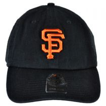 San Francisco Giants MLB Clean Up Strapback Baseball Cap Dad Hat alternate view 2
