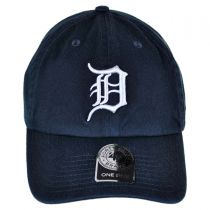 Detroit Tigers MLB Clean Up Strapback Baseball Cap Dad Hat alternate view 2