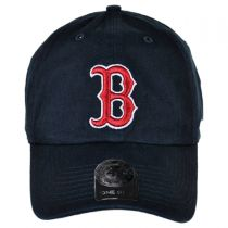 Boston Red Sox MLB Home Clean Up Strapback Baseball Cap Dad Hat alternate view 2
