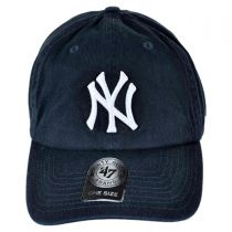 New York Yankees MLB Home Clean Up Strapback Baseball Cap Dad Hat alternate view 2