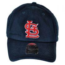 St Louis Cardinals MLB Clean Up Strapback Baseball Cap Dad Hat alternate view 2