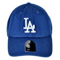 Los Angeles Dodgers MLB Clean Up Strapback Baseball Cap Dad Hat alternate view 2