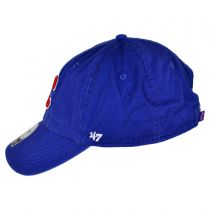 Chicago Cubs MLB Clean Up Strapback Baseball Cap Dad Hat alternate view 3