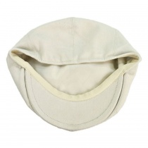 Cotton Newsboy Cap - Youth