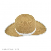 Toyo Straw Braid Facesaver Hat in
