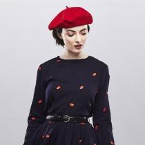 Wool Basque Beret by Héritage par Laulhère alternate view 10