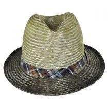 Tennessee Ramie Straw Fedora Hat in