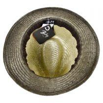 Tennessee Ramie Straw Fedora Hat alternate view 4