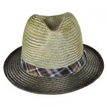 Tennessee Ramie Straw Fedora Hat alternate view 2