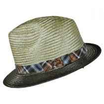 Tennessee Ramie Straw Fedora Hat alternate view 3
