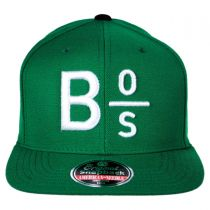 Boston Celtics NBA Divided Snapback Baseball Cap alternate view 2