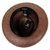 Baxter Straw Fedora Hat
