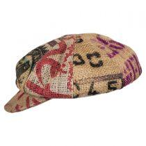 Havana Coffee Works Jute Baker Boy Hat alternate view 3