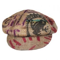 Havana Coffee Works Jute Baker Boy Hat alternate view 10