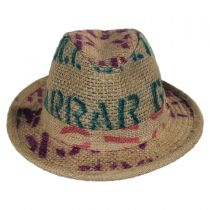 Havana Coffee Works Jute Mod Trilby Fedora Hat alternate view 2