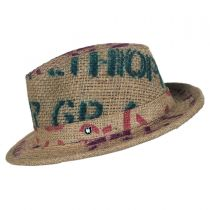 Havana Coffee Works Jute Mod Trilby Fedora Hat alternate view 3