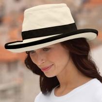 TH8 Hemp Sun Hat - Natural/Black in Natural/Black