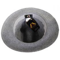 Ramie Straw Blend Safari Fedora Hat