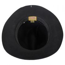 Wool Felt Safari Fedora Hat in