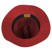 Wool Felt Safari Fedora Hat in