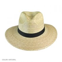 Explorer Palm Straw Safari Fedora Hat alternate view 2