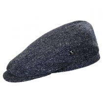 Marl Tweed Donegal Tweed Wool Ivy Cap in