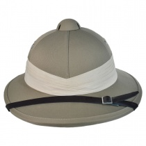 African Safari Pith Helmet in