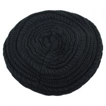 Slouchy Knit Beret in