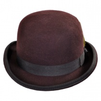 English Wool Felt Bowler Hat alternate view 6