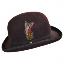 English Wool Felt Bowler Hat alternate view 7