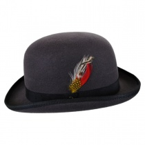 English Wool Felt Bowler Hat alternate view 11