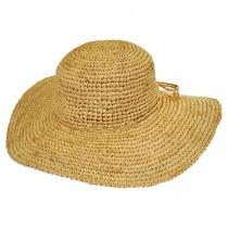 Crochet Raffia Straw Swinger Hat alternate view 2