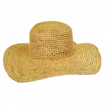 Crochet Raffia Straw Swinger Hat alternate view 3
