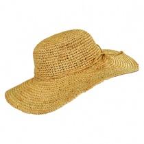 Crochet Raffia Straw Swinger Hat alternate view 4