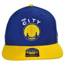 Golden State Warriors NBA Sure Shot Snapback Baseball Cap alternate view 2