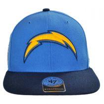 Los Angeles Chargers NFL Sure Shot Strapback Baseball Cap alternate view 2