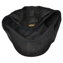 Rustic Leather Newsboy Cap alternate view 4