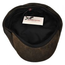 Rustic Leather Newsboy Cap alternate view 8