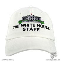 White House Staff Strapback Baseball Cap Dad Hat alternate view 2