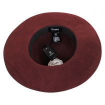 Magdalena Wool Felt Wide Brim Hat in