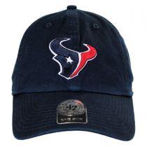 Houston Texans NFL Clean Up Strapback Baseball Cap Dad Hat alternate view 2
