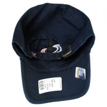 Houston Texans NFL Clean Up Strapback Baseball Cap Dad Hat alternate view 4