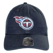 Tennessee Titans NFL Clean Up Strapback Baseball Cap Dad Hat alternate view 2