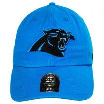 Carolina Panthers NFL Clean Up Strapback Baseball Cap Dad Hat alternate view 6
