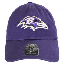 Baltimore Ravens NFL Clean Up Strapback Baseball Cap Dad Hat in