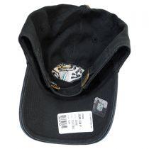 Jacksonville Jaguars NFL Clean Up Strapback Baseball Cap Dad Hat alternate view 4