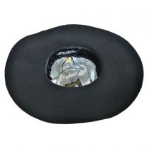 Billy Jack Studded Wool Felt Floppy Hat in
