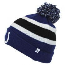Indianapolis Colts NFL Breakaway Knit Beanie Hat alternate view 2
